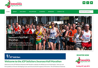 Swansea Half Marathon - Run by the Sea