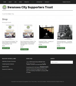 Swans Trust Screenshot