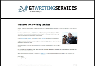 GT Writing Services screenshot