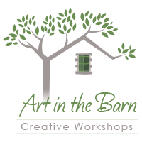 Art in the Barn logo