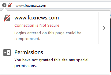 Website without SSL Certificate