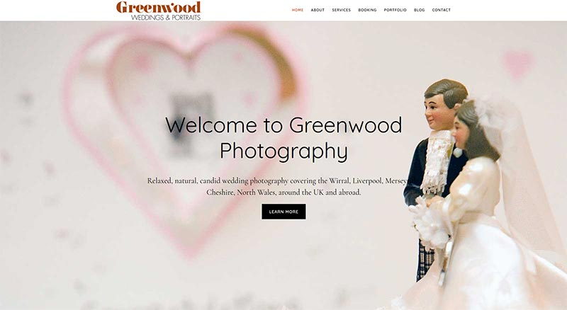 Greenwood Photography homepage