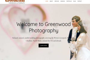 Greenwood Photography website