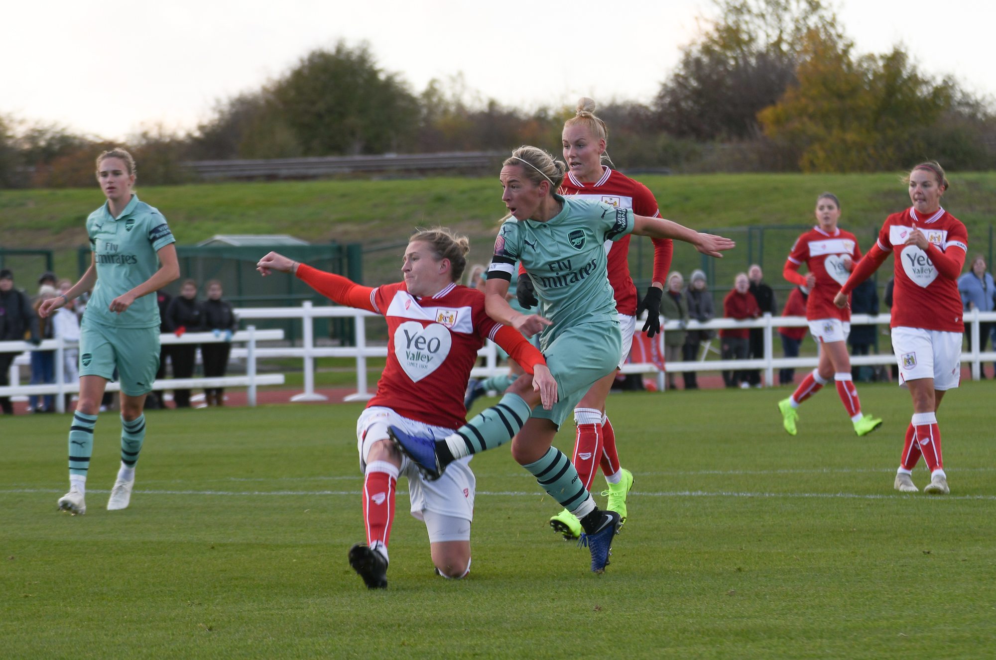 Jordan Nobbs v Bristol City Women