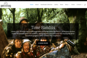 Handmade Films website screenshot