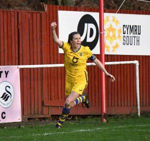 Briton Ferry Llansawel Ladies v Swansea City Ladies 2019-2020