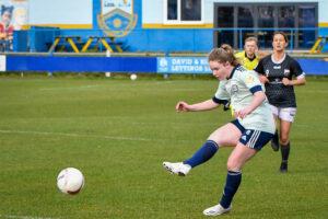 Phoebe Pool of Cardiff City Women