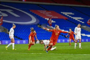 Wales Women v Denmark Women International Friendly 2020-2021