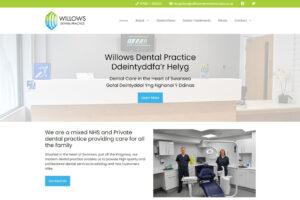 Willows Dental Practice Website
