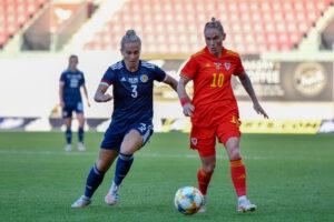 Wales Women v Scotland Women - International Friendly - Parc y Scarlets, Llanelli, Wales, UK.