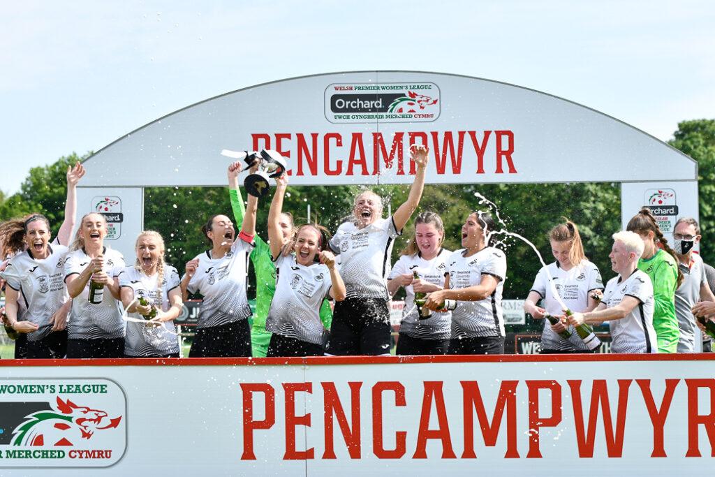 Swansea City Ladies v Abergavenny Women - Orchard Welsh Premier Women's League - Llandarcy Academy of Sport, Neath, Wales, UK.