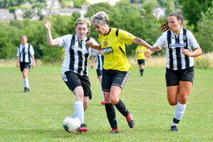 Pontardawe Town Ladies v Caerphilly Castle Ladies South & West Women Combined League 2021-2022