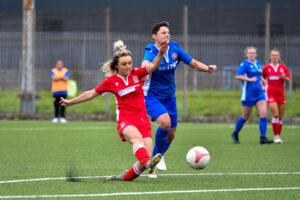 Briton Ferry Llansawel Ladies v Caldicot Town Ladies Adran Trophy Group 2 South 2020-2021